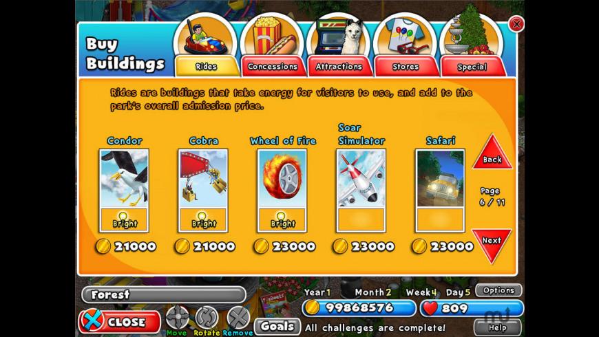Dream Builder: Amusement Park for Mac - review, screenshots