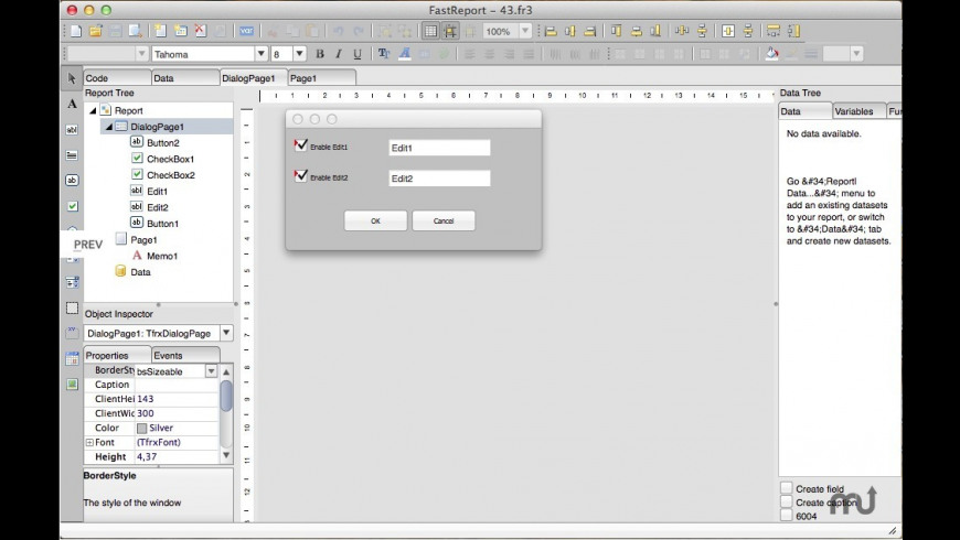 FastReport FMX for Mac - review, screenshots