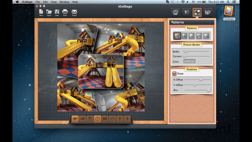 iCollage for Mac - review, screenshots