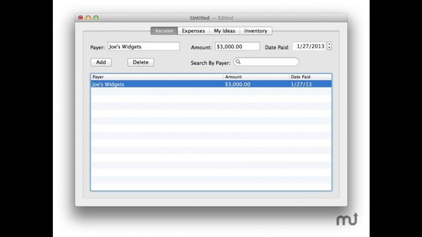 Online Business Tracker Lite for Mac - review, screenshots