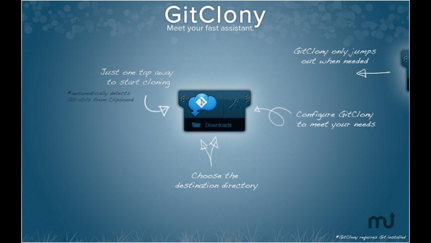 GitClony for Mac - review, screenshots