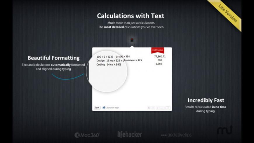 Numi Lite for Mac - review, screenshots