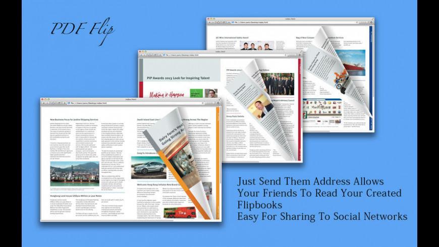 PDF Flip for Mac - review, screenshots