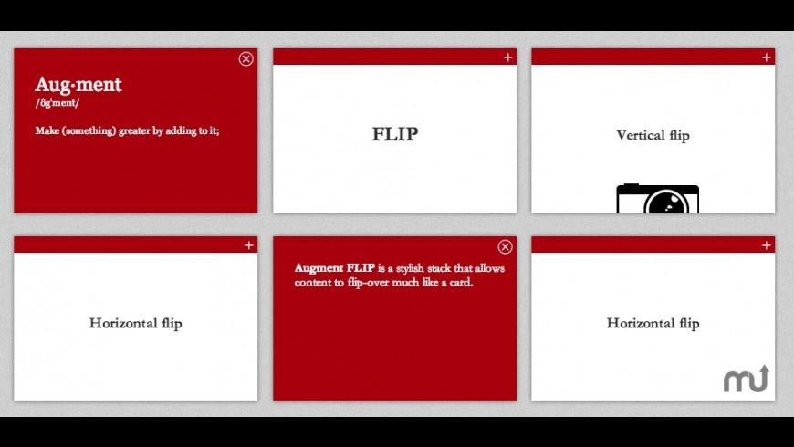 Augment FLIP for Mac - review, screenshots