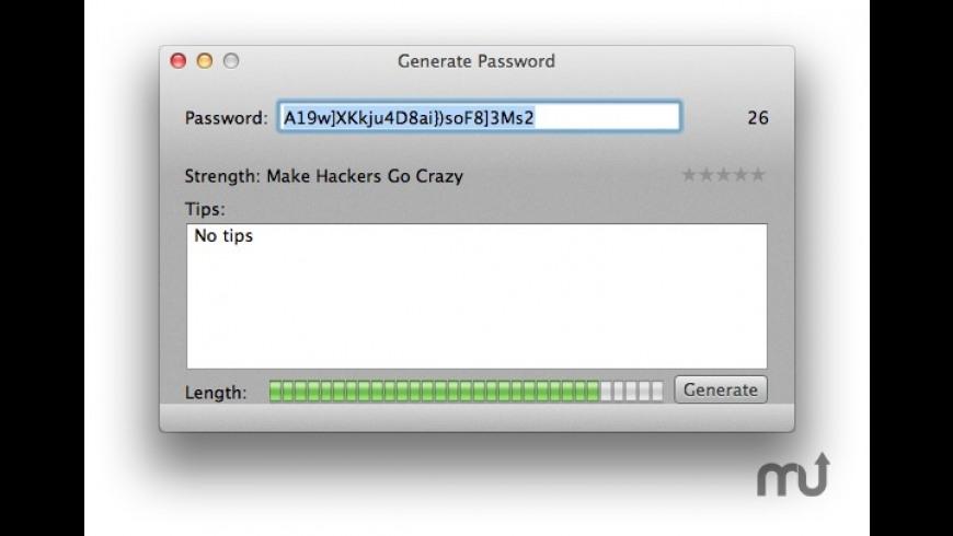 PasswordHelper for Mac - review, screenshots