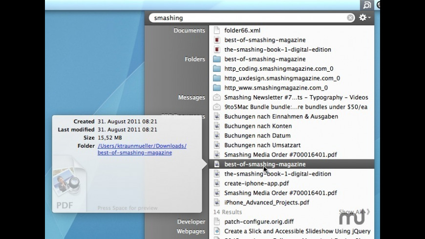 Disklens for Mac - review, screenshots