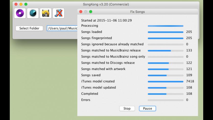 SongKong for Mac - review, screenshots