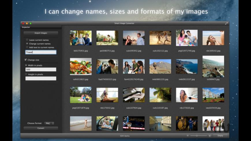 Smart Image Converter for Mac - review, screenshots