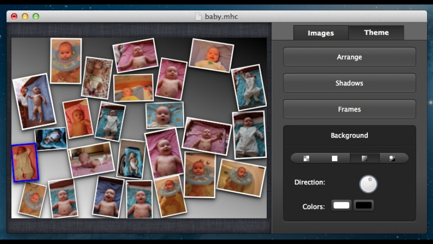 Collagerator for Mac - review, screenshots