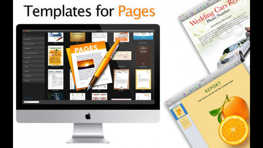 Templates Box for Pages for Mac - review, screenshots