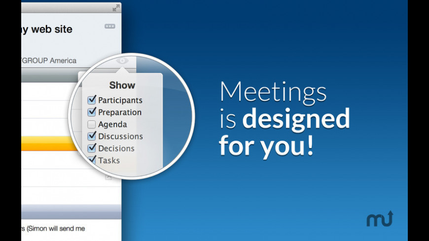 Meetings for Mac - review, screenshots