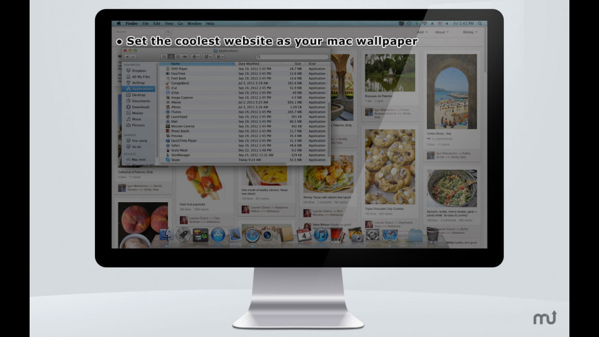 Website Wallpaper for Mac - review, screenshots