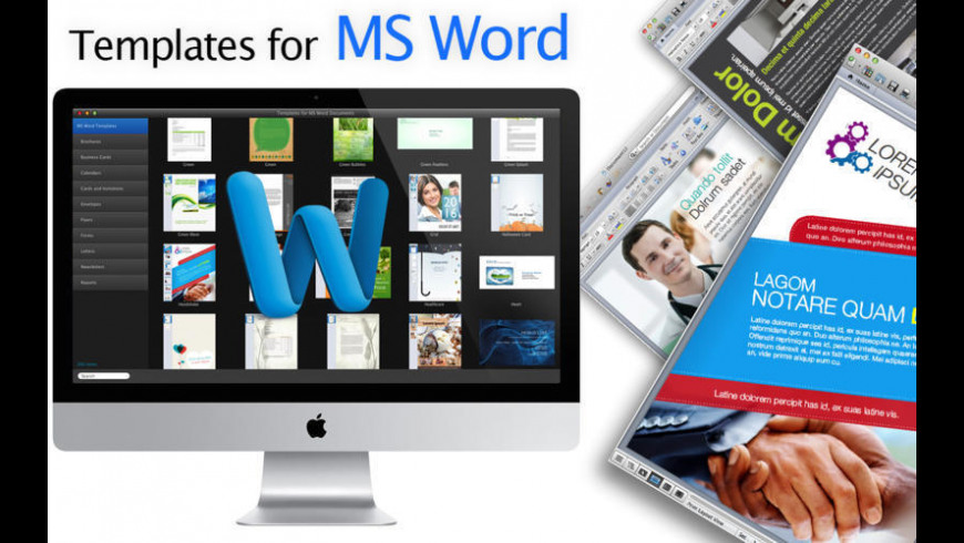 Templates for MS Word Documents for Mac - review, screenshots