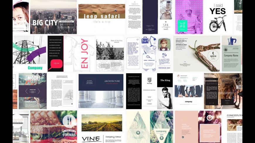 DesiGN Brochures Templates for Mac - review, screenshots