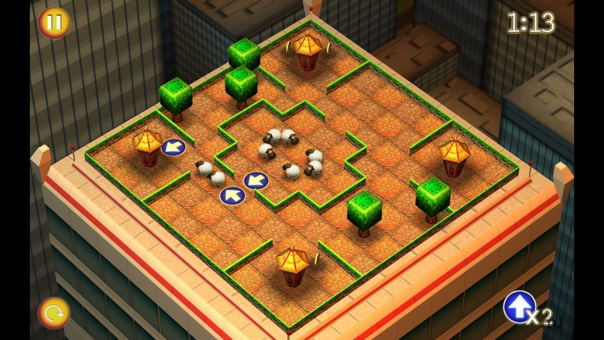 Running Sheep: Tiny Worlds for Mac - review, screenshots