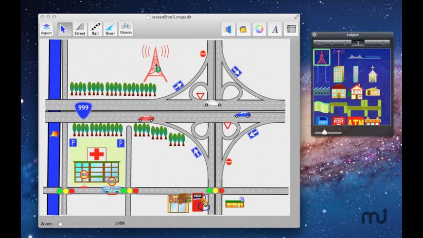 Map Editor for Mac - review, screenshots