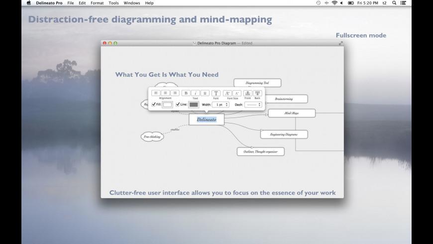 Delineato Pro for Mac - review, screenshots