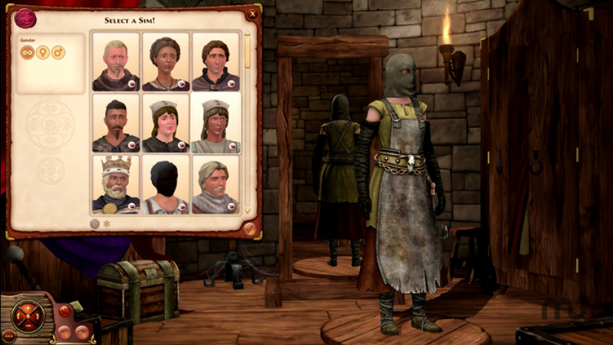 The Sims Medieval for Mac - review, screenshots