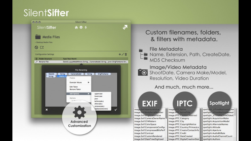 Silent Sifter for Mac - review, screenshots