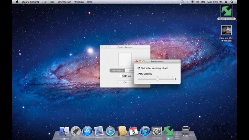 Quick Resizer for Mac - review, screenshots