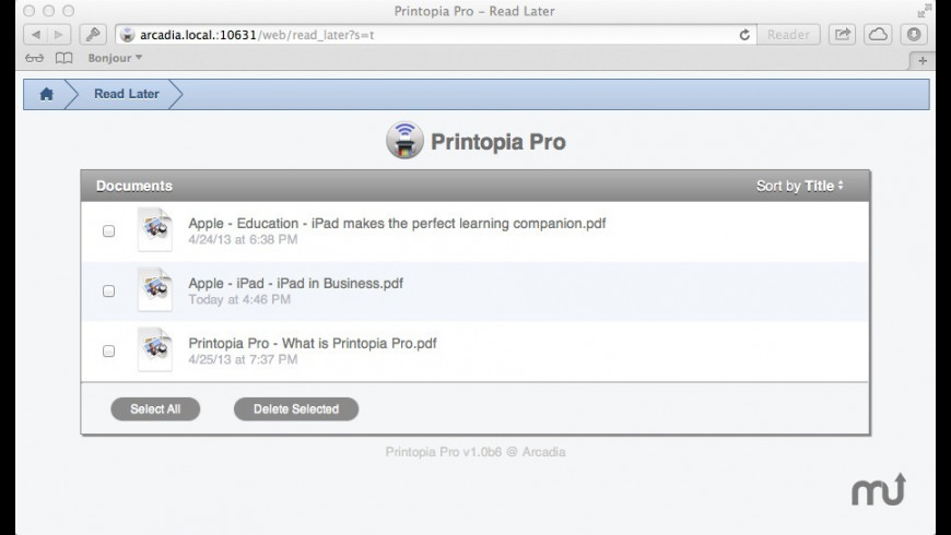 Printopia Pro for Mac - review, screenshots