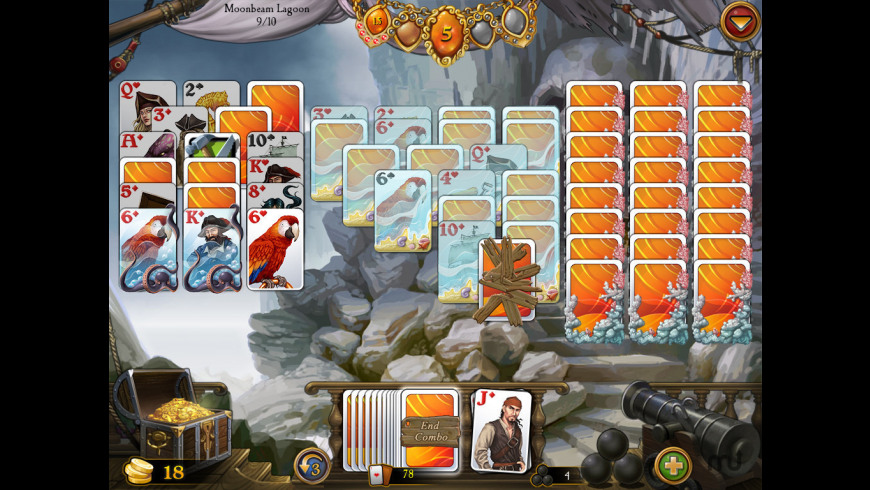 Seven Seas Solitaire for Mac - review, screenshots