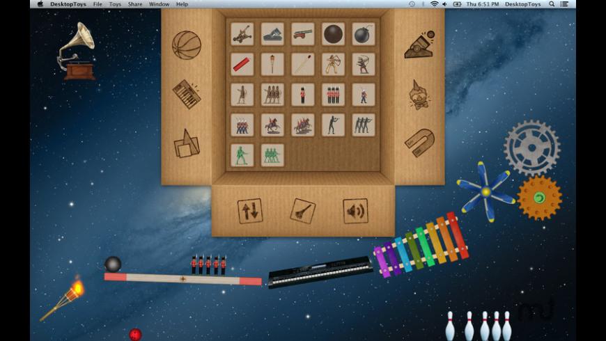 Desktop Toys for Mac - review, screenshots