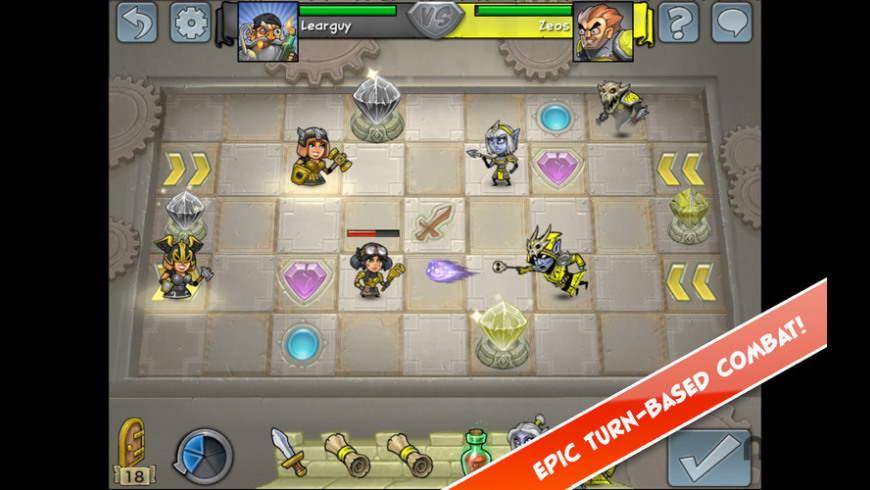 Hero Academy for Mac - review, screenshots