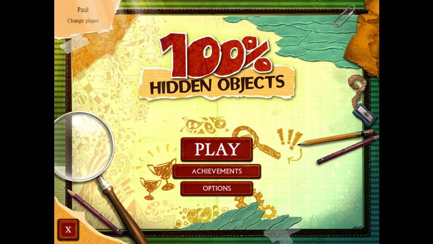 100% Hidden Objects for Mac - review, screenshots