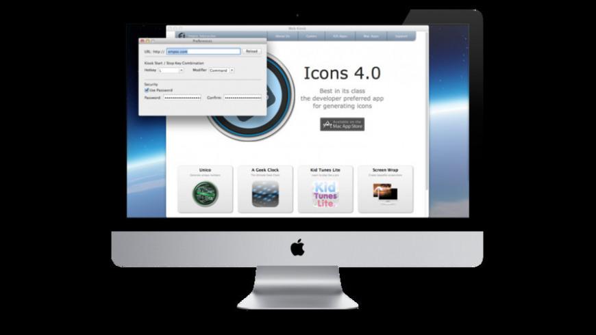 Web Kiosk for Mac - review, screenshots
