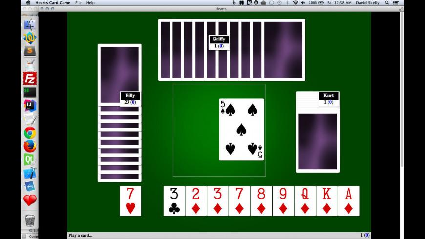 Hearts Card Game for Mac - review, screenshots