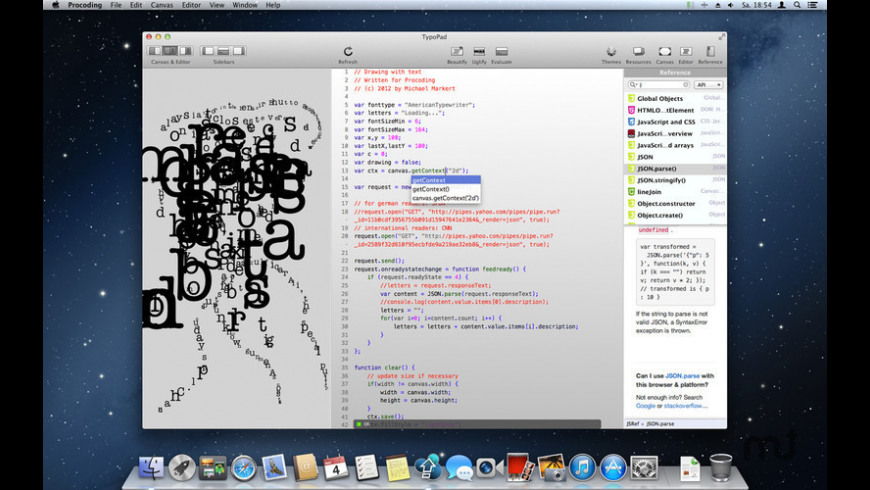 Procoding for Mac - review, screenshots