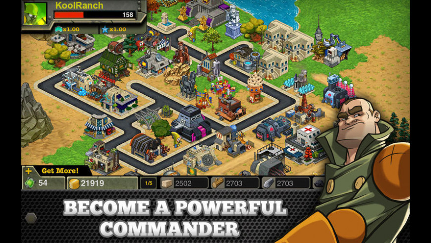 Battle Nations for Mac - review, screenshots