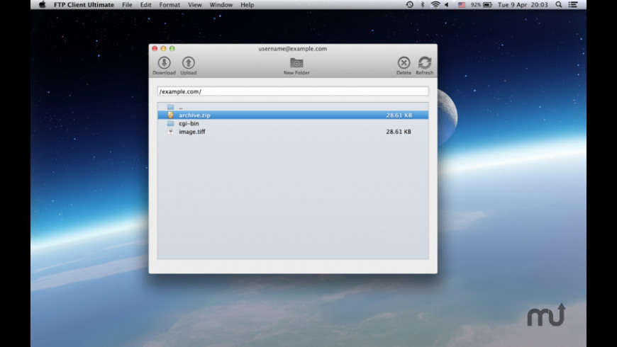 FTP Client Ultimate for Mac - review, screenshots