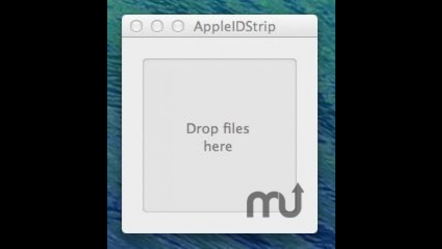 AppleIDStrip for Mac - review, screenshots