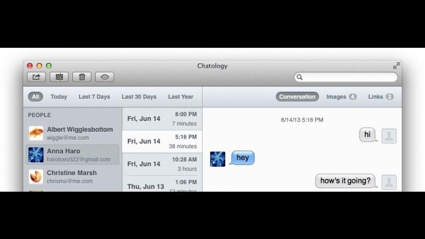 Chatology for Mac - review, screenshots
