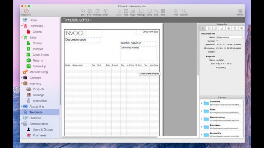Edouard for Mac - review, screenshots