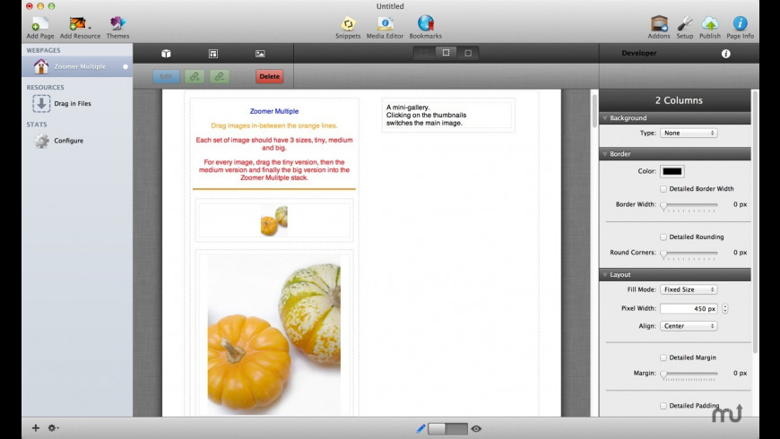 Zoomer Stacks for Mac - review, screenshots