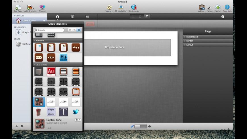 Control Panel for Mac - review, screenshots
