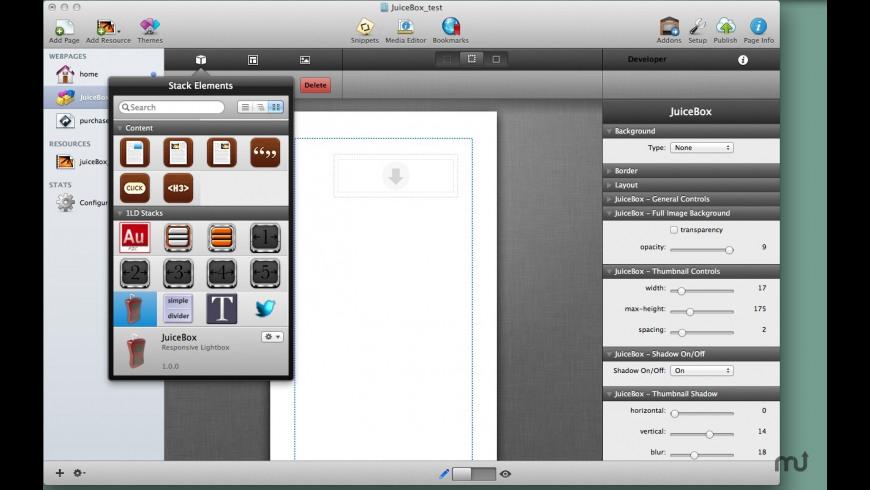 JuiceBox for Mac - review, screenshots
