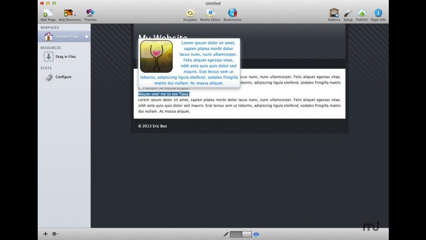Tipsy Stack for Mac - review, screenshots