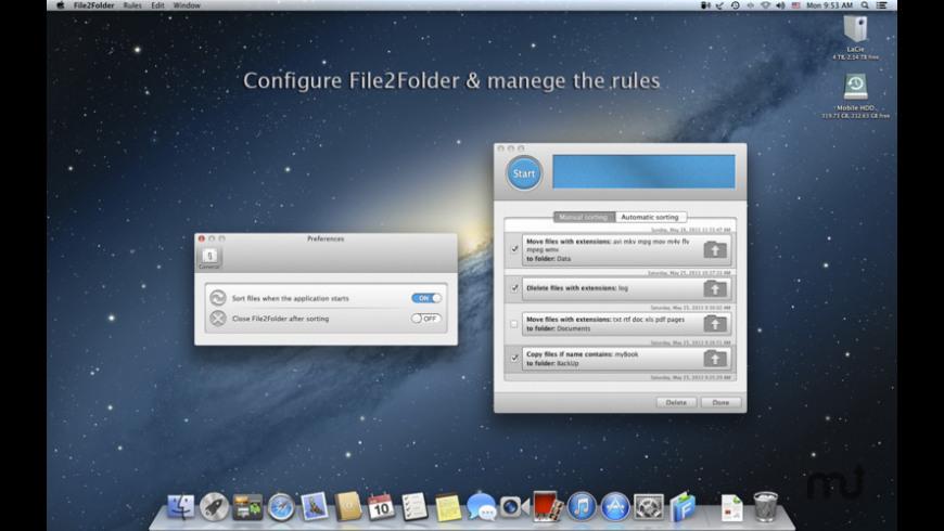 File2Folder for Mac - review, screenshots