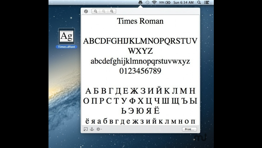 Quick Print for Mac - review, screenshots