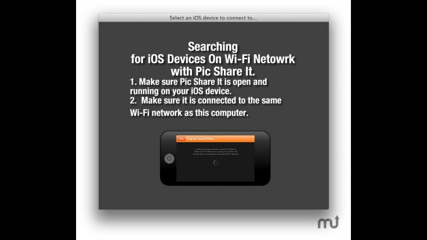 Pic Share It for Mac - review, screenshots