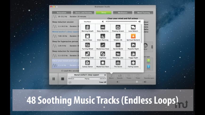 Brainwave Studio for Mac - review, screenshots
