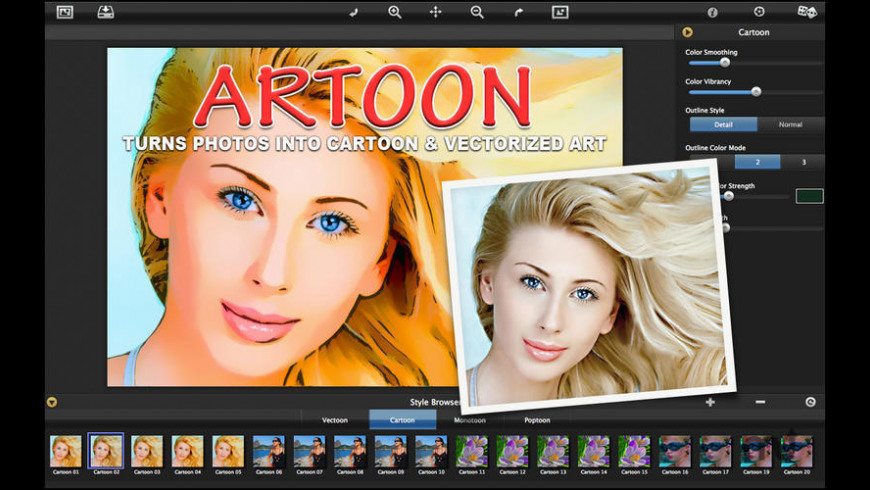 Artoon for Mac - review, screenshots