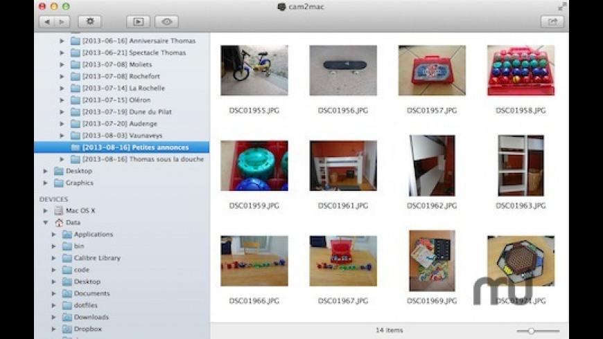 cam2mac for Mac - review, screenshots