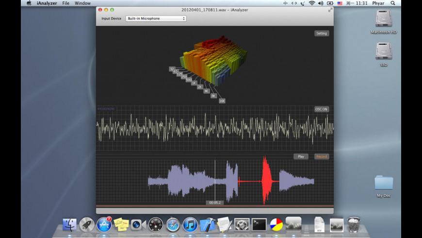 iAnalyzer for Mac - review, screenshots
