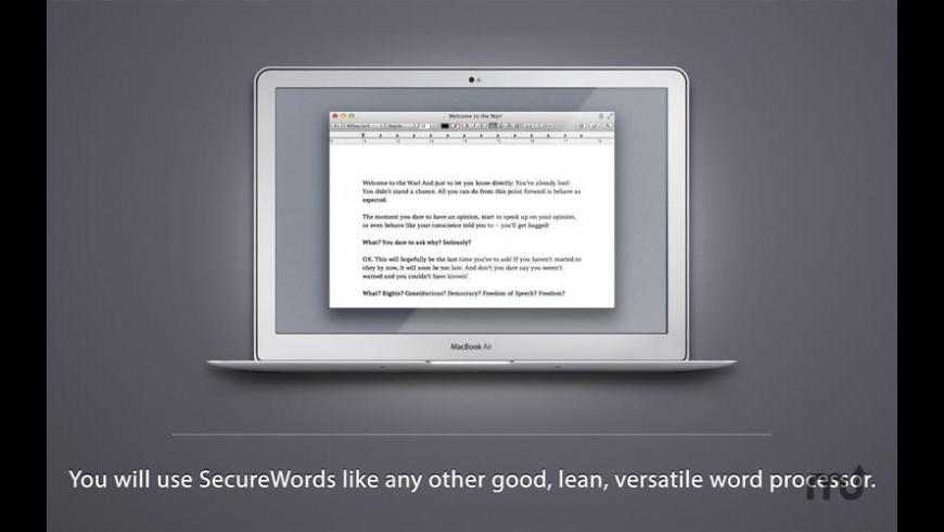 SecureWords for Mac - review, screenshots