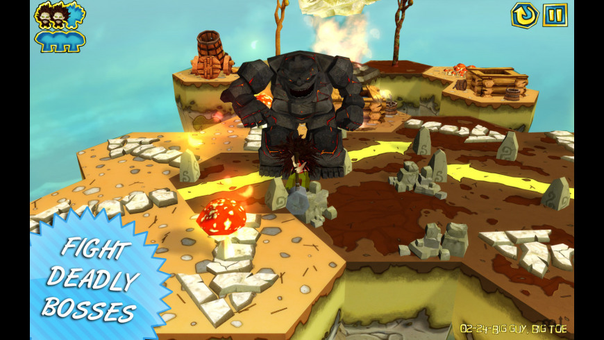 Hairy Tales for Mac - review, screenshots